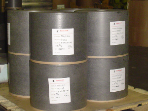 Black one-time (single-use) carbon paper